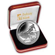 Fiji 2017 Winter Olympics South Korea Snow Sports Proof Sterling Silver Coin (FIJ01)