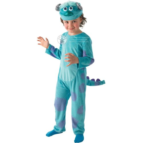 Sulley Child Monsters Inc Deluxe Costume