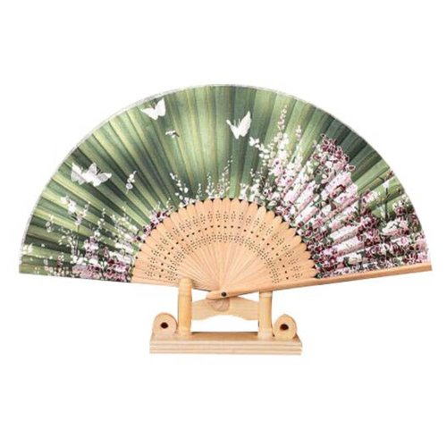 """For Gifts For Women 8.27""""(21cm) Hand Held Folding Fan Vintage Retro Style"""