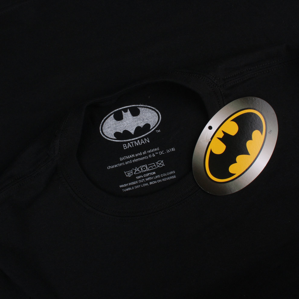 773a7a9d S) DC Comics Joker Full House Mens T-shirt Black on OnBuy