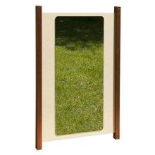 Inspirational Nurseries Outdoor Mirror Panel, Wood, Multi-Colour