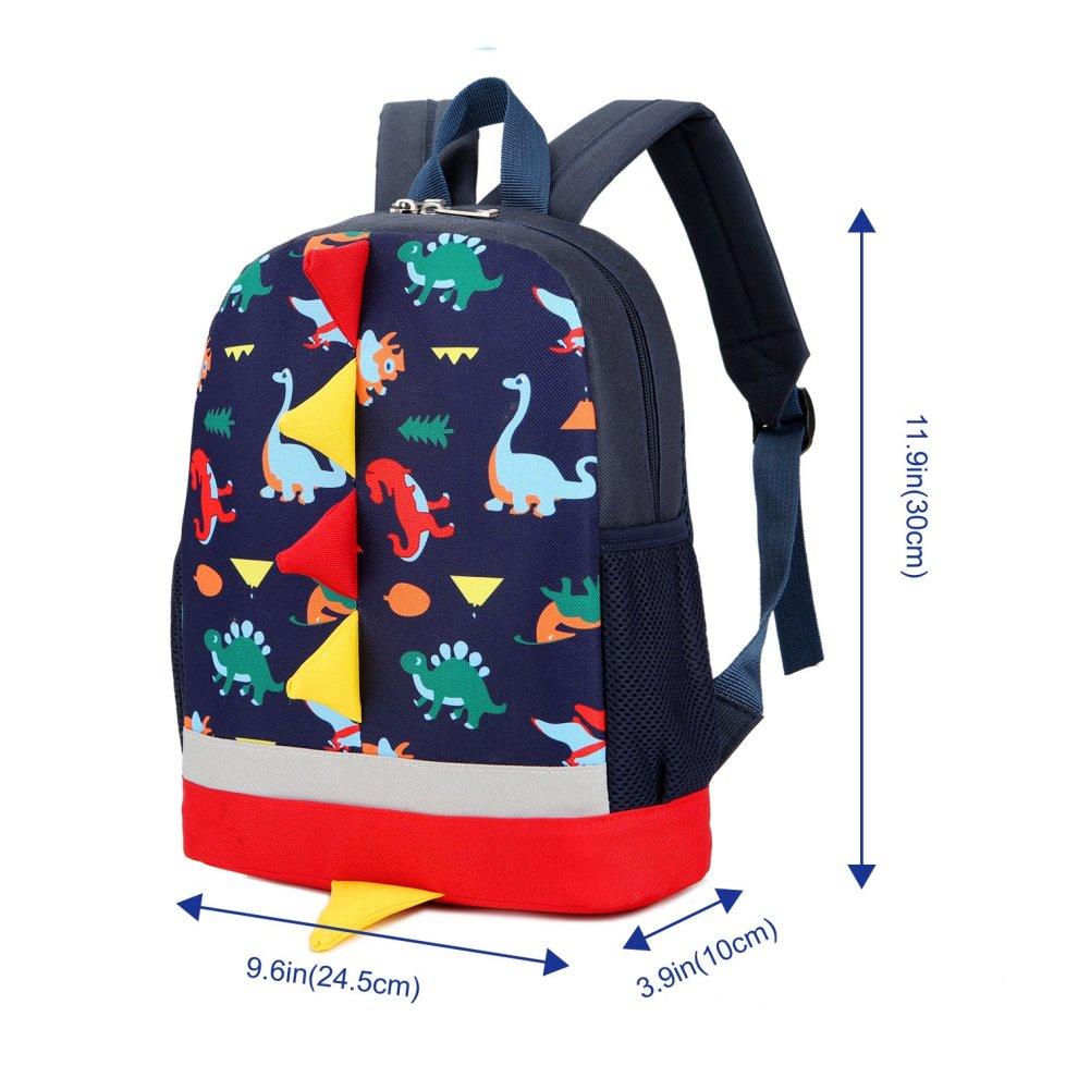 63a5e6443bc ... Uworth Dinosaur Kids Backpack Rucksack Boys for Toddler Kindergarten  Navy - 2 ...