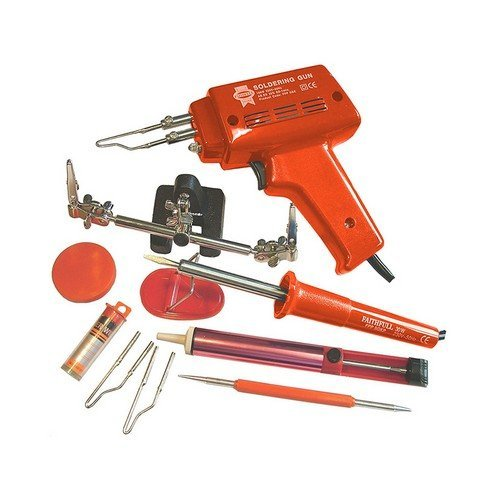 Faithfull FPPSGKP SGKP Soldering Gun & Iron Kit 30 Watt 240 Volt