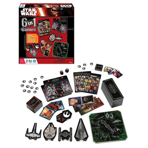 6-in-1 Star Wars Board Game