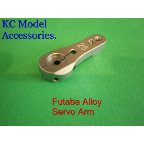 Futaba Servo Arm Aluminium 25 Teeth Heavy Duty Silver