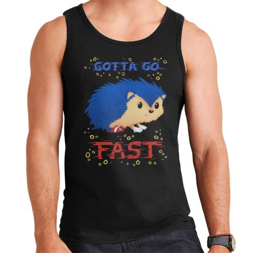 Gotta Go Fast Sonic The Hedgehog Men's Vest
