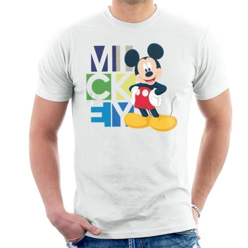 Disney Mickey Mouse Pose Men's T-Shirt
