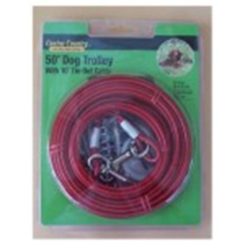 Westminster Pet Products 223858 50 ft. Pet Expert Heavy Weight Dog Trolley Tie-Out Cable