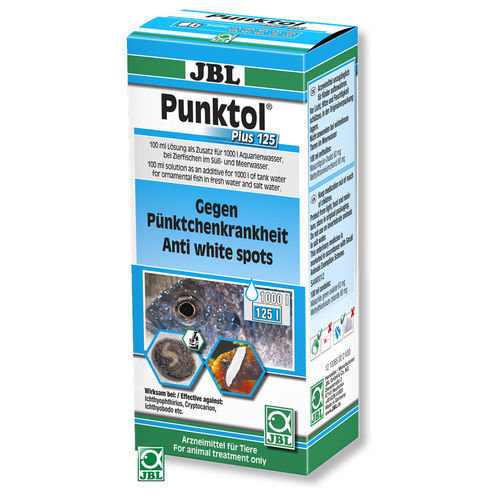 JBL punktol Plus 125 100ml Against All Causes The White Spot Disease
