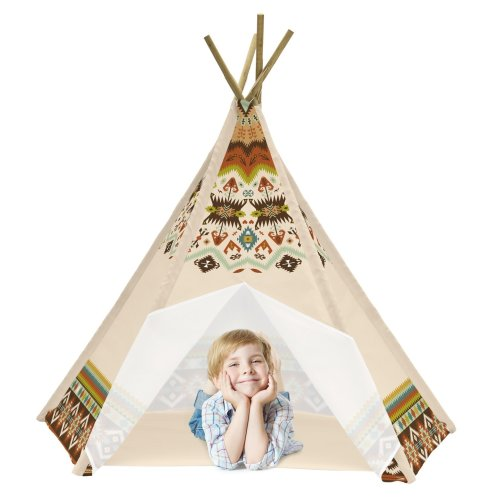 Achoka Tepee Indian Wigwam Large Play Tent Suitable For 3 Years +