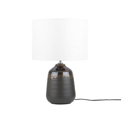 Table Lamp Ceramic Black DESNA