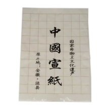 20 Sheets Practice Xuan Papers with Grids 13.5*54 Inches