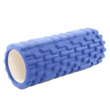 Yoga Foam Roller Wheel Yoga Massage Stick Muscle Relaxation Fitness Exercise 33 CM * 14 CM-Blue