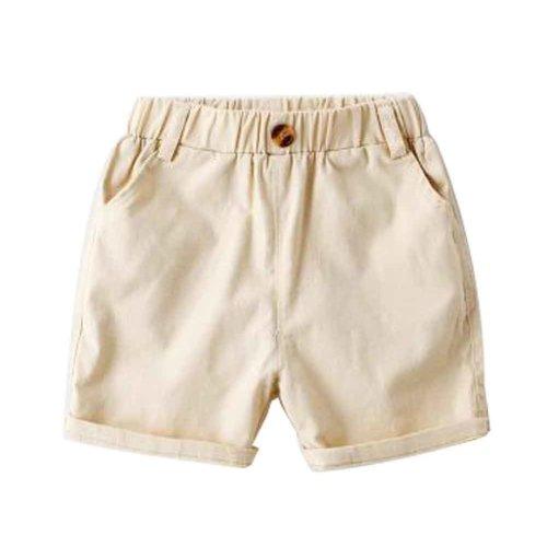 Baby Boy Short Pants Cute Short Pants for Summer Suitable for 100cm [B]