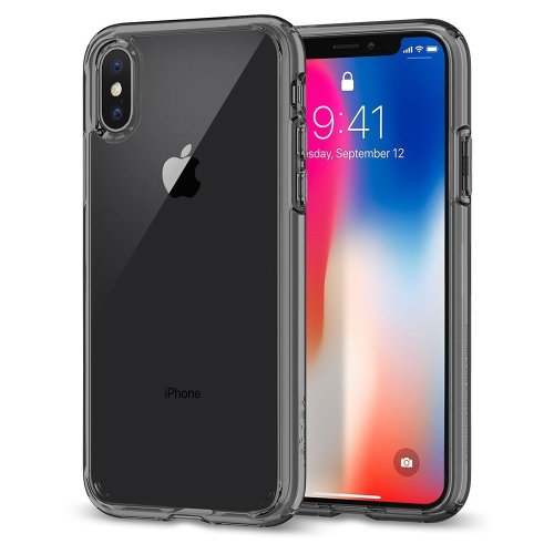 Spigen Ultra Hybrid iPhone XS Case, Air Cushion - Space Crystal