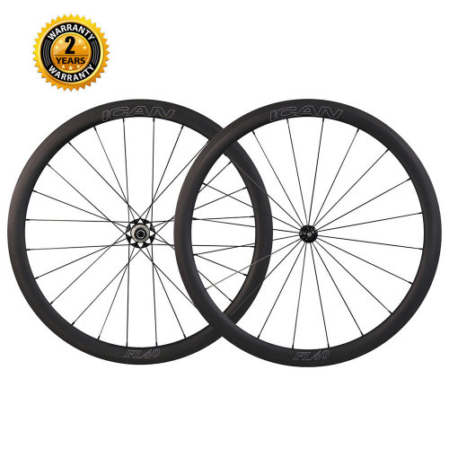 ICAN FL40 Wheelset with 2:1 Spokes