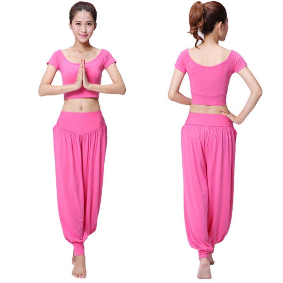 d57d5655e2ba ... Best Yoga Apparel Sexy Yoga Pink Pant Gym Clothes Dance Outfit Fitness  Suit - 1. >