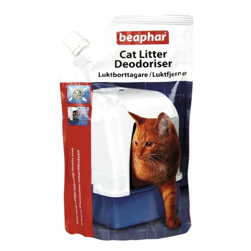 Beaphar Cat Litter Deodoriser 400g (Pack of 6)