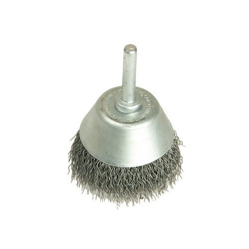 Lessmann 437.162 Cup Brush with Shank D70mm x 25h x 0.30 Steel Wire