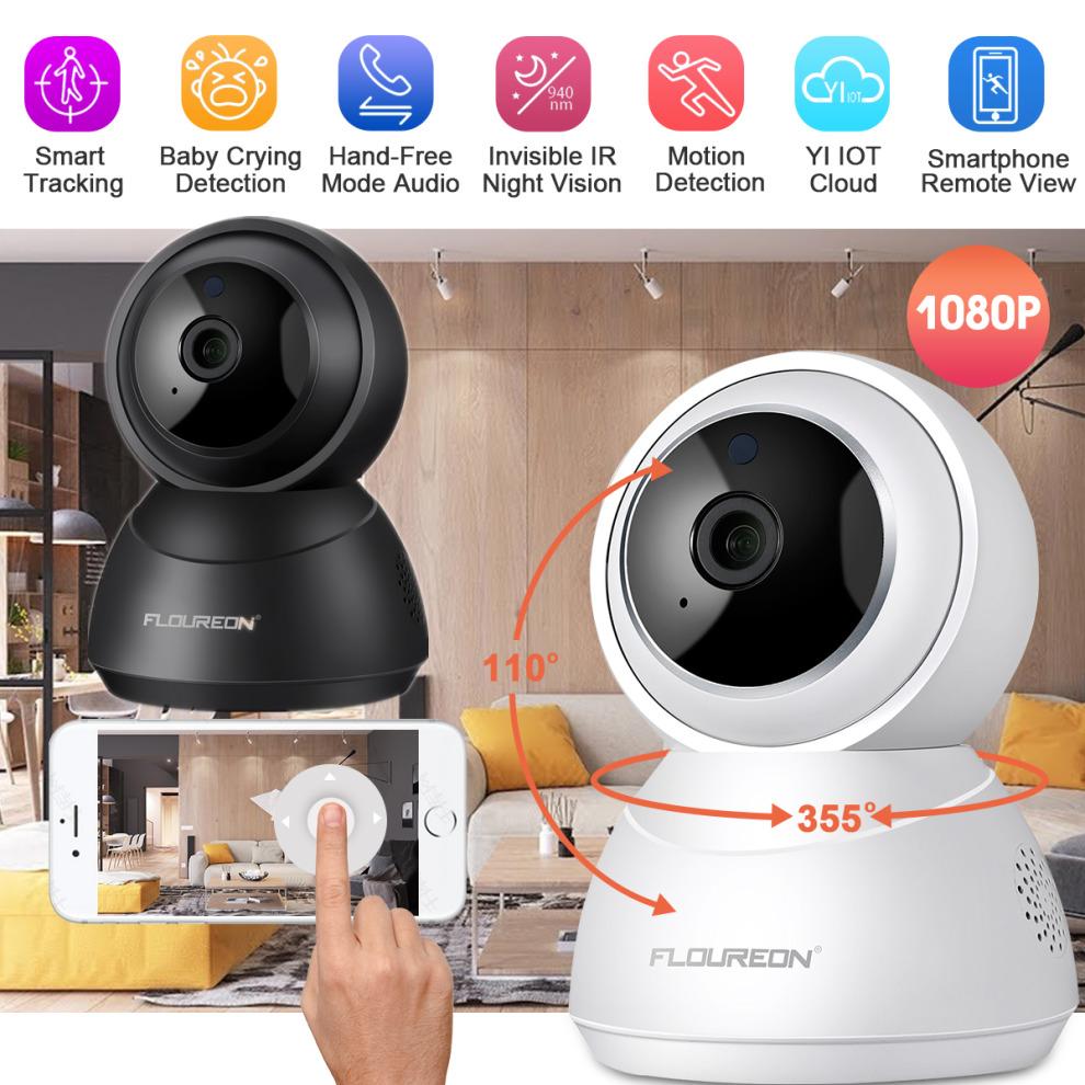 1080P Wireless IP Camera PTZ Home Security Webcam