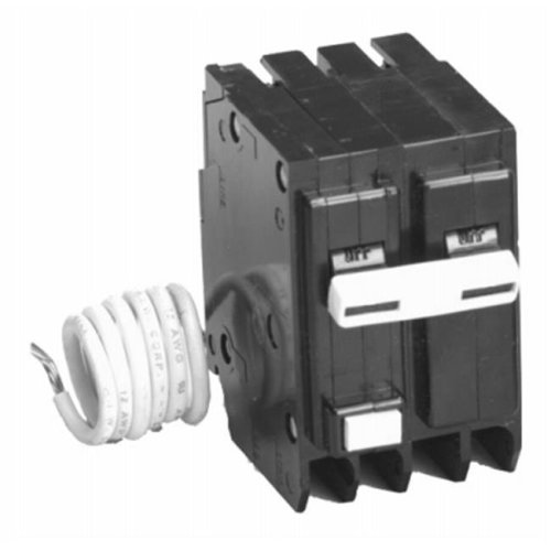 Masterchem 210073 2 Pole Ground Fault Circuit Breaker with Self-Test