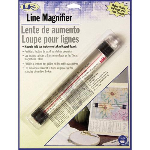 "LoRan Magnetic Line Magnifier .875""X6.5""-"