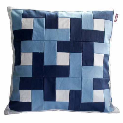 Handmade Patchwork Decorative Cushion Throw Pillows, Fills Included