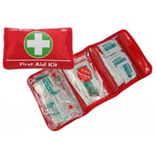 37 Piece First Aid Kit For Household Use -  37 first aid kit emergency pouch travel piece medical safety carhousehold uk carry bag pcs home camping