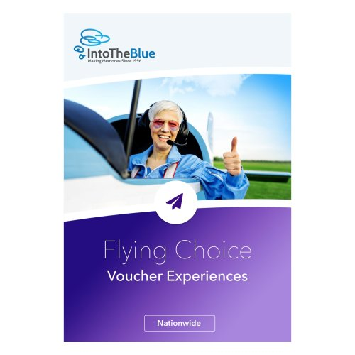 £50 Flying Choice Gift Experience Voucher Box