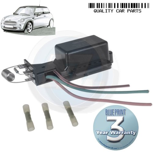 FOR MINI ONE COOPER S 1 6 2003-2006 NEW RADIATOR FAN RESISTOR SWITCH OE  QUALITY