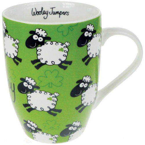 Dublin Gift Wooley Jumpers Tulip Mug 10oz-