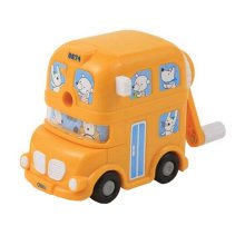 Kids Cute  Manual Pencil Sharpener For Classroom School Stationery?Bus