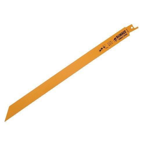 DeWalt DT2355-QZ Bi Metal Sabre Blade for Metal, Rubber and Fibreglass 305mm Pack of 5
