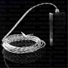 Fun Central G623 EL Motion Wire - White 2 Yard