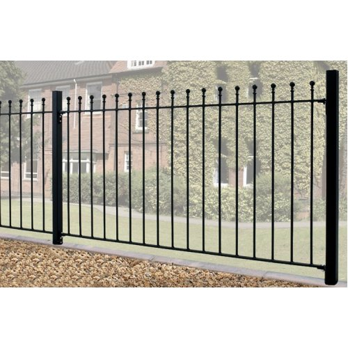 Manor Ball Top Fence Fencing Metal Wrought Iron