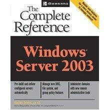Windows 2003 Server (osborne Complete Reference Series)