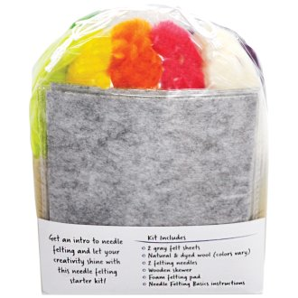 Pretty Twisted Needle Felting Fun Starter Kit-