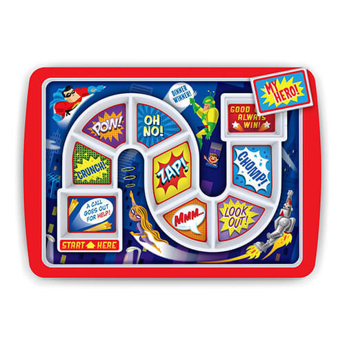 Fred DINNER WINNER Kids' Dinner Tray - Supper Hero