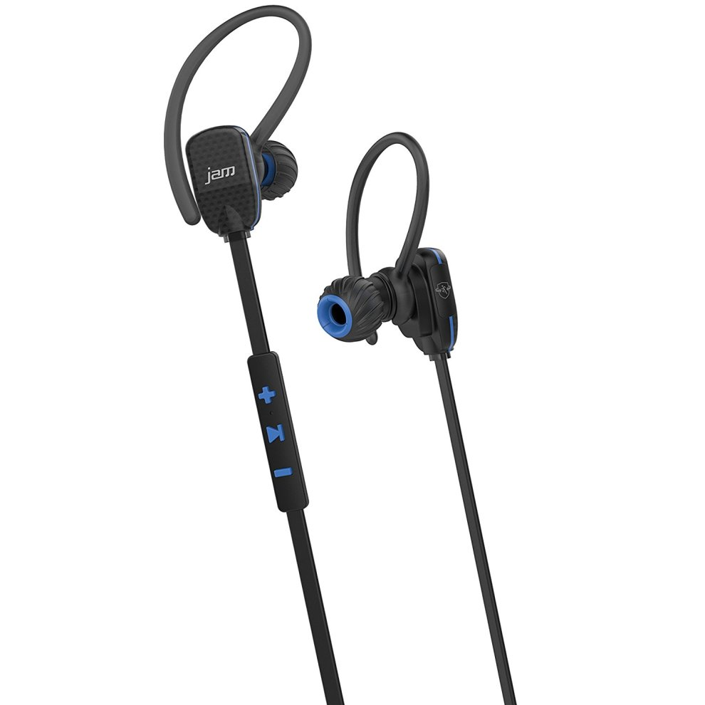 jam transit micro sports buds bluetooth in ear headphones blue on onbuy. Black Bedroom Furniture Sets. Home Design Ideas