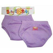 Bright Bots 2pk Washable Training Pants Mauve