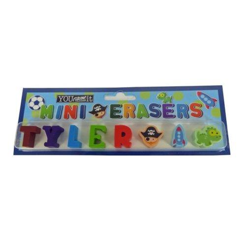 Childrens Mini Erasers - Tyler