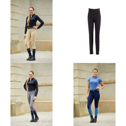 Dublin Womens/Ladies Performance Flex Knee Patch Riding Tights