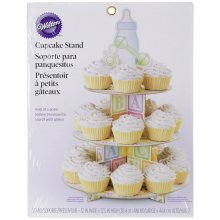 "Treat Stand-Baby Feet 12""X17.5"" Holds 24 Cupcakes"