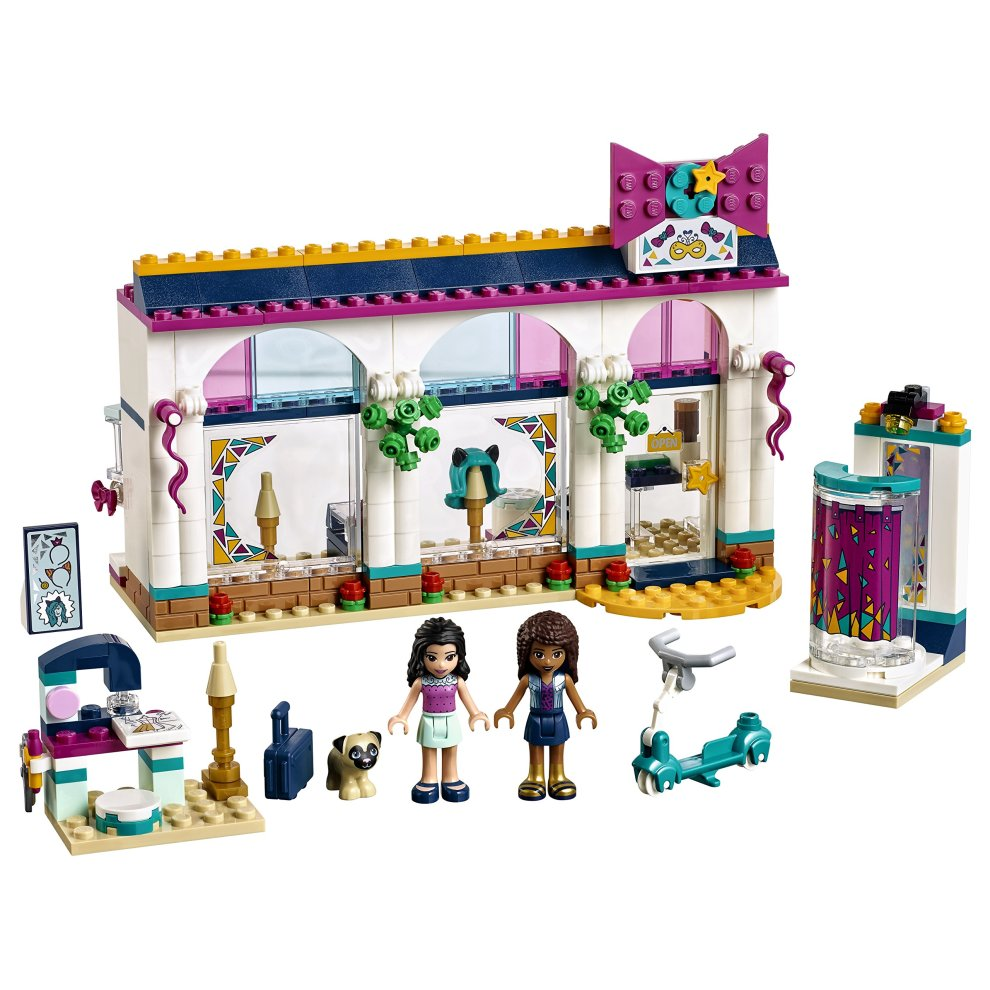 Lego 41344 Friends Heartake Andreas Accessories Store Playset