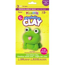 Foamies(R) Air-Dry Modeling Clay 4oz-Lime Green