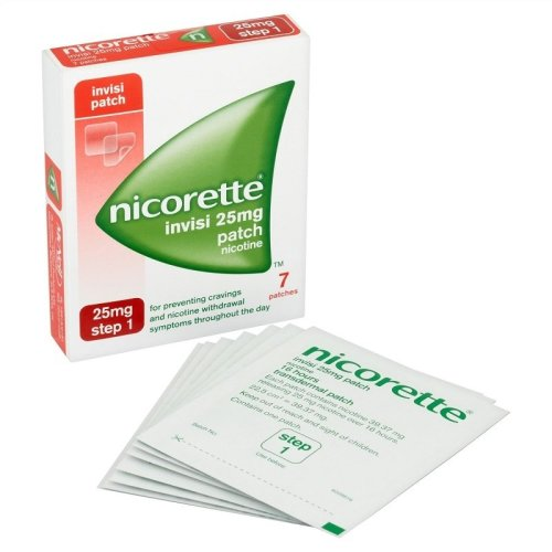 Nicorette Invisi Patch 25mg Step 1 - 7 Patches