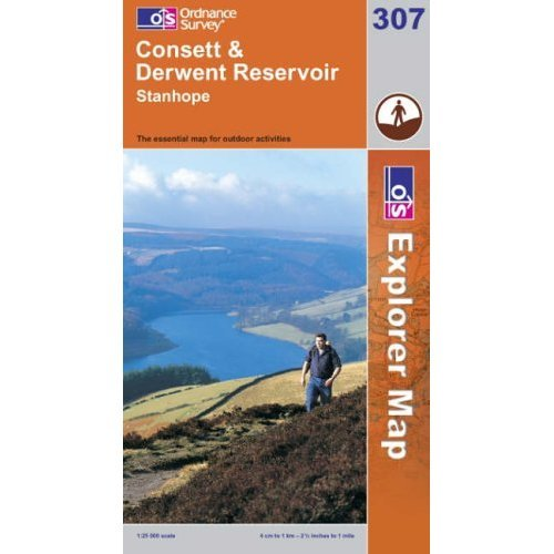 Consett and Derwent Reservoir (Explorer Maps) (OS Explorer Map)