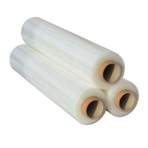 18x  Shrink Wraps Heavy Duty Clear Pallet Wrap Stretch Film 500mm x450m 23mu 3kg