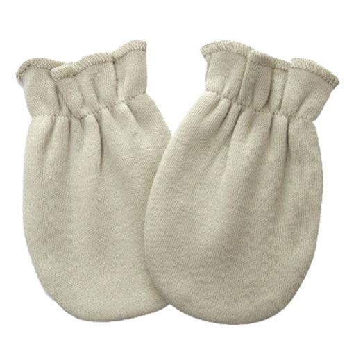 Warm Unisex-Baby Gloves Newborn Mittens Soft No Scratch Mittens, Pea-green