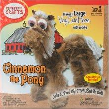 Fuzzy Stem Kit-Cinnamon The Pony